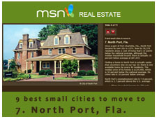 North Port: one of the best small cities per MSN Real Estate