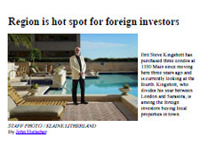 Region is hot spot for foreign investors