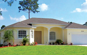 The Florida Store model home
